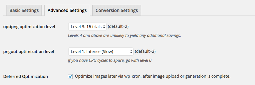 wordpress optimization ewww image optimizer